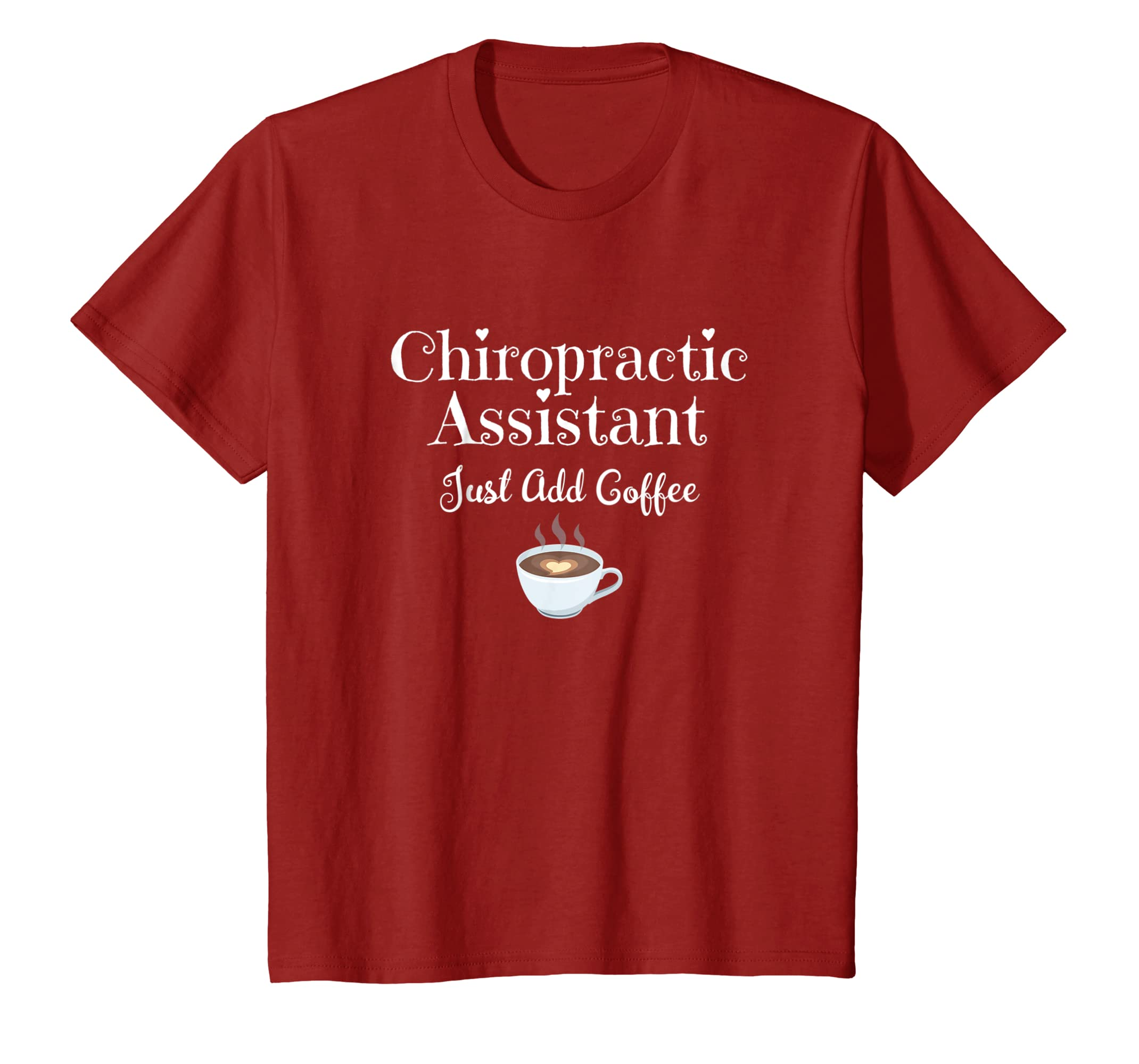c6f05007 Amazon.com: Womens Medical Shirt Chiropractic Assistant Just Add ...