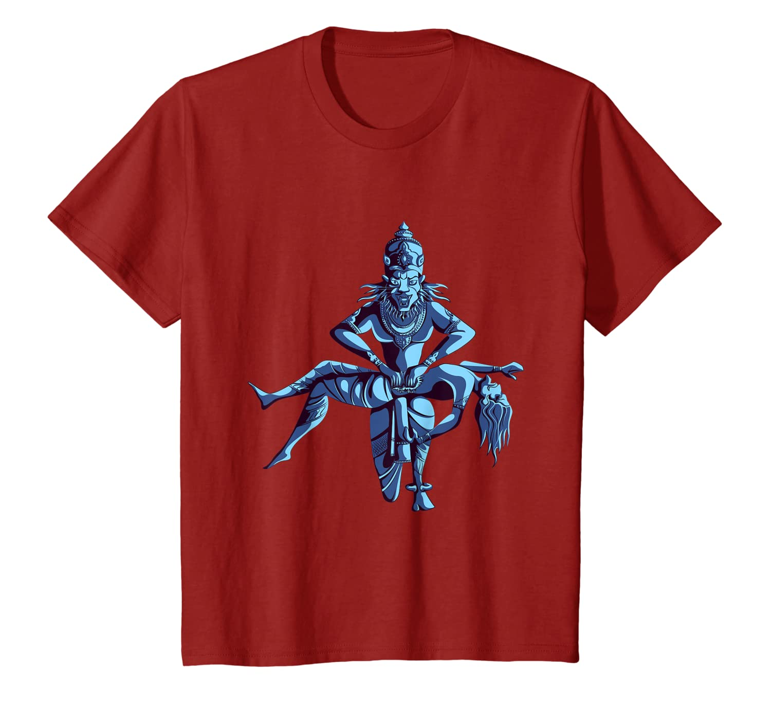 Narasimha Hindu Hinduism Lion God T-Shirt