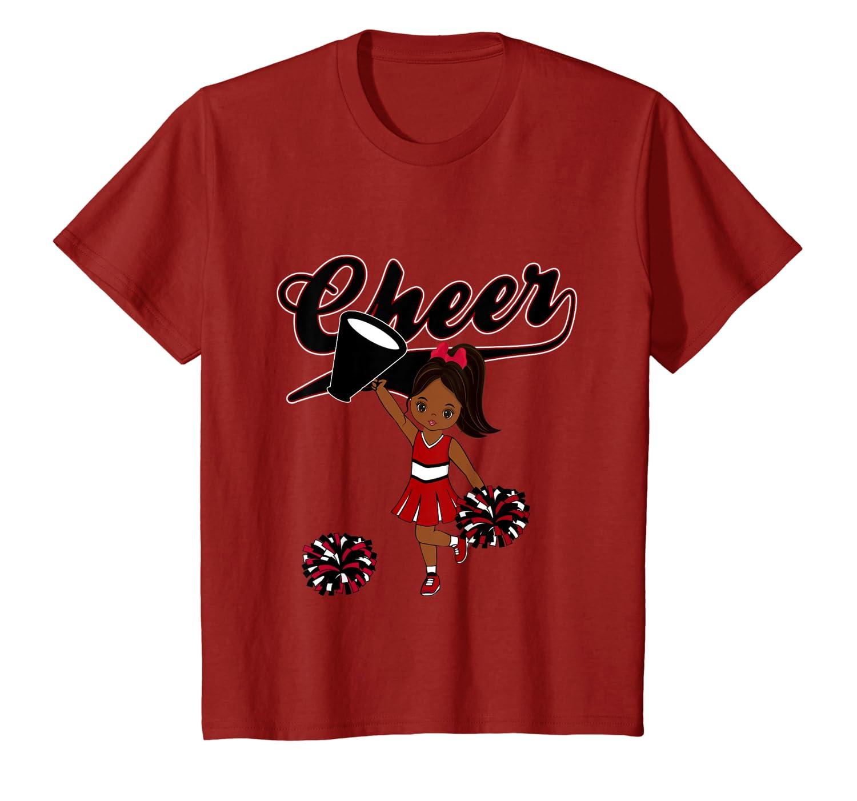 Amazoncom Cheerleader Maroon Team Colors Fashion Tshirt