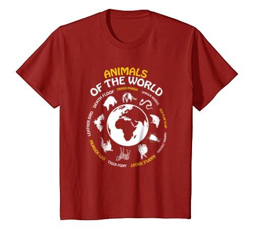 35476440f Amazon.com: Rare Animals of The World Tshirt Snorg Tees Funny Gift Kids:  Clothing