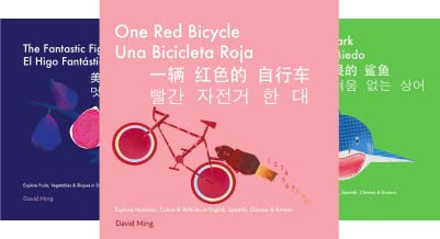 English, Spanish, Chinese, Korean Multilingual Edition, Simplified Chinese Pinyin and Traditional Chinese Version (3 Book Series)