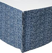 product image for Navy Waves Crib Skirt