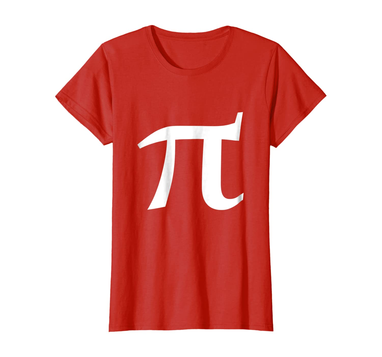 Pi symbol shirt for pi day party t-shirt math teacher geek