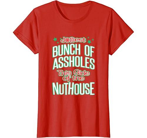 Womens Jolliest Bunch Of A Holes T Shirt
