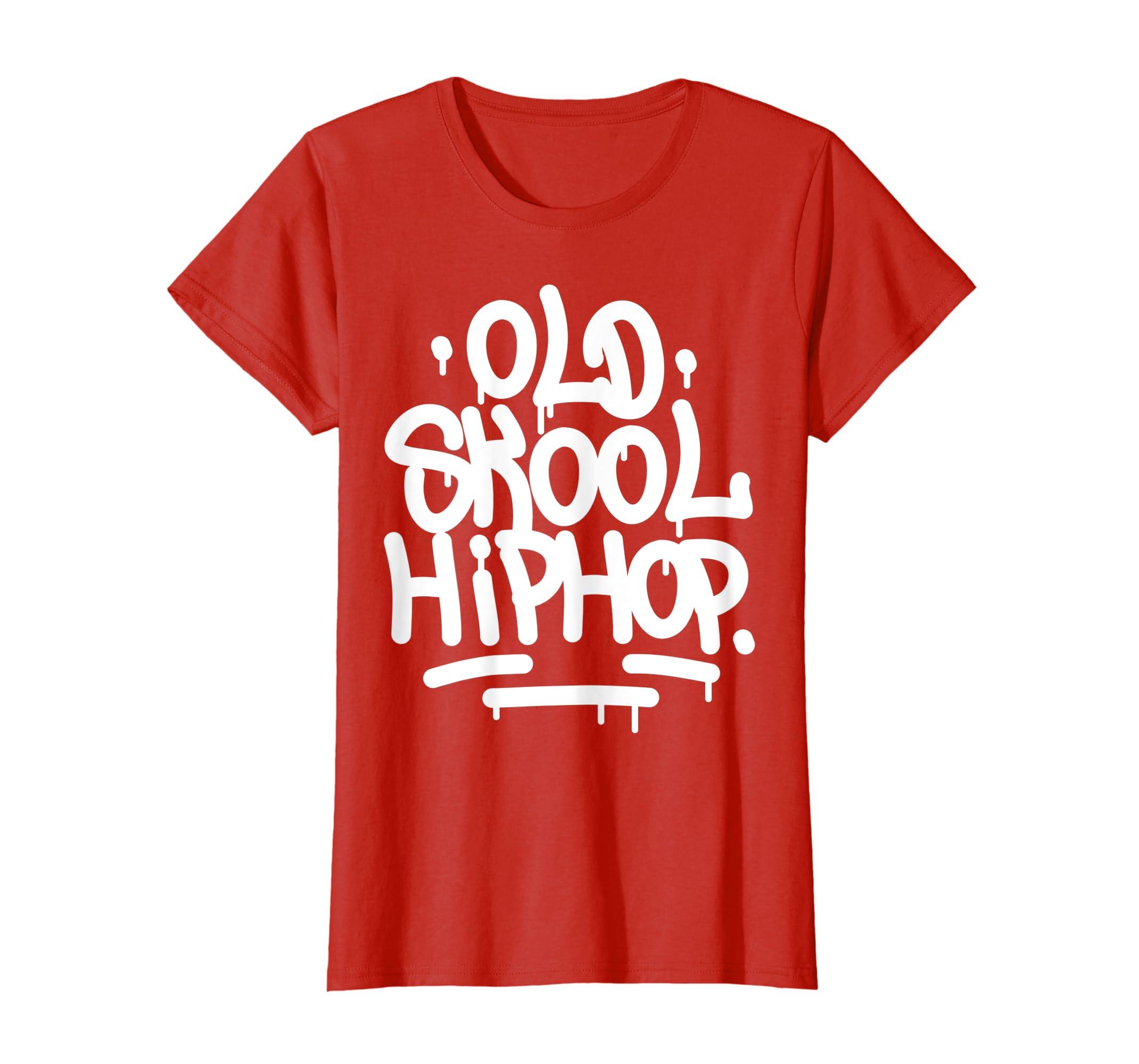 Amazon com old school hip hop 90s graffiti t shirt clothing