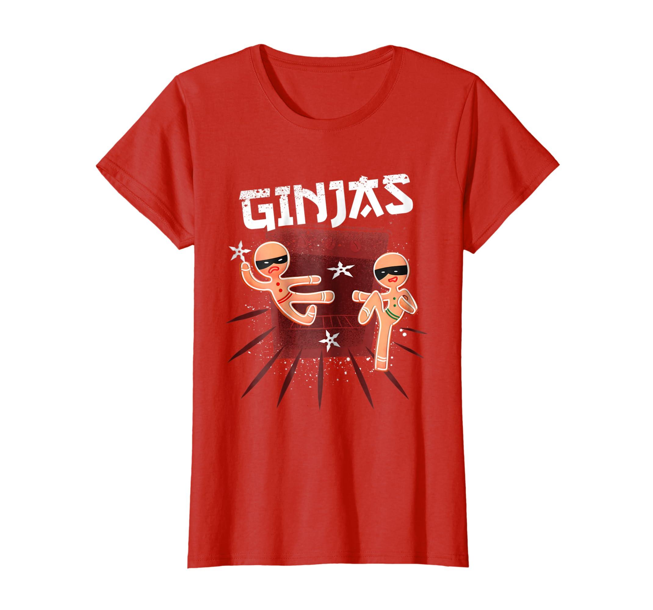 Amazon.com: Ginja Ninja Decoration T-shirt Costume for ...