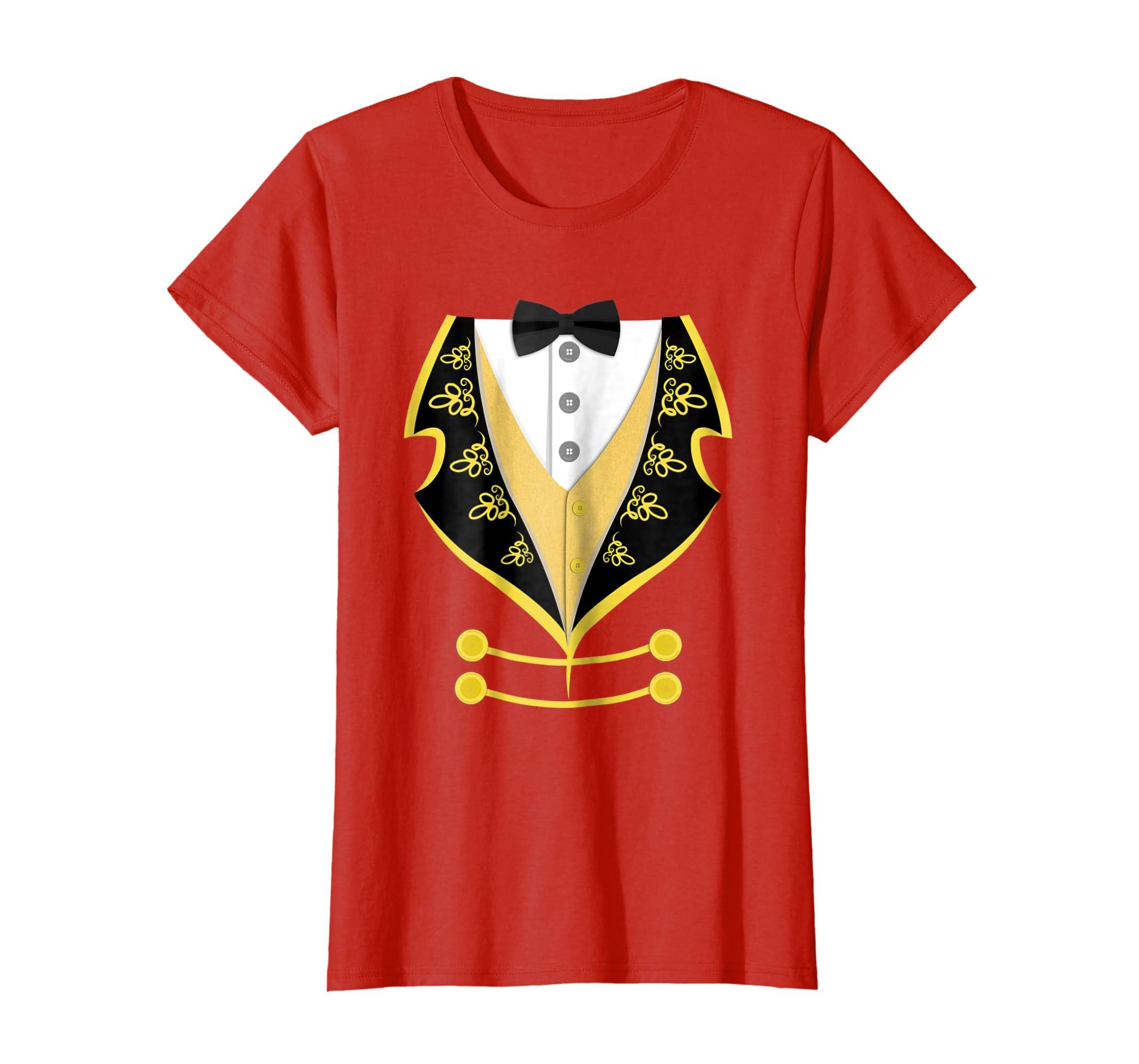 Ringmaster Shirt Circus Costume T Shirt