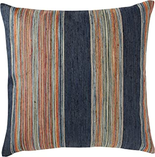 Rivet Bohemian Stripe Decorative Pillow, 17
