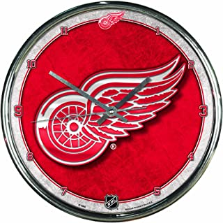 WinCraft NHL Chrome Clock