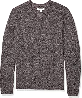 Amazon Brand - Goodthreads Men's Supersoft Marled V-Neck Sweater