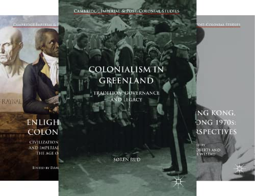 Cambridge Imperial and Post-Colonial Studies (51-92) (42 Book Series)