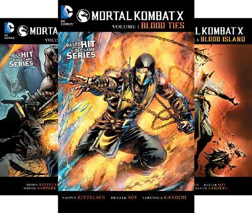 Mortal Kombat X (2015) (3 Book Series)