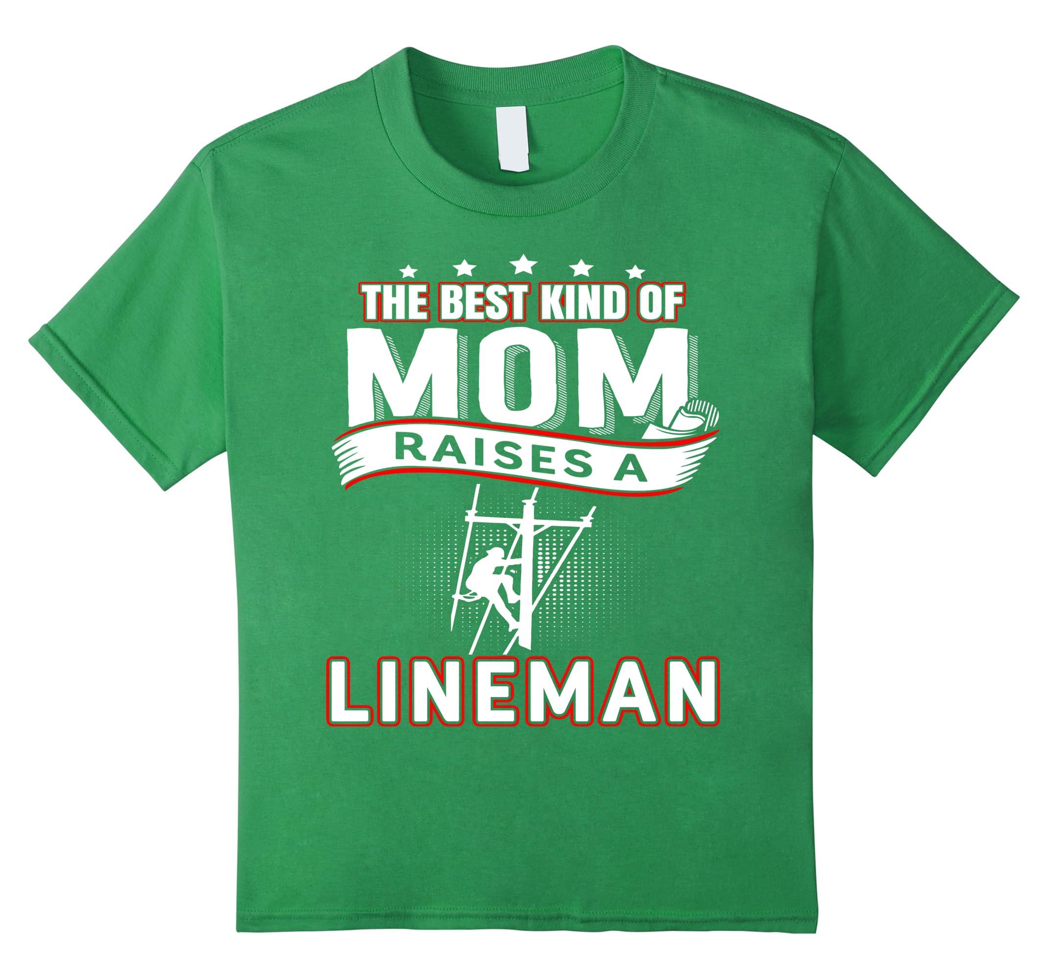 Best Kind Raises Lineman Tshirt-Newstyleth