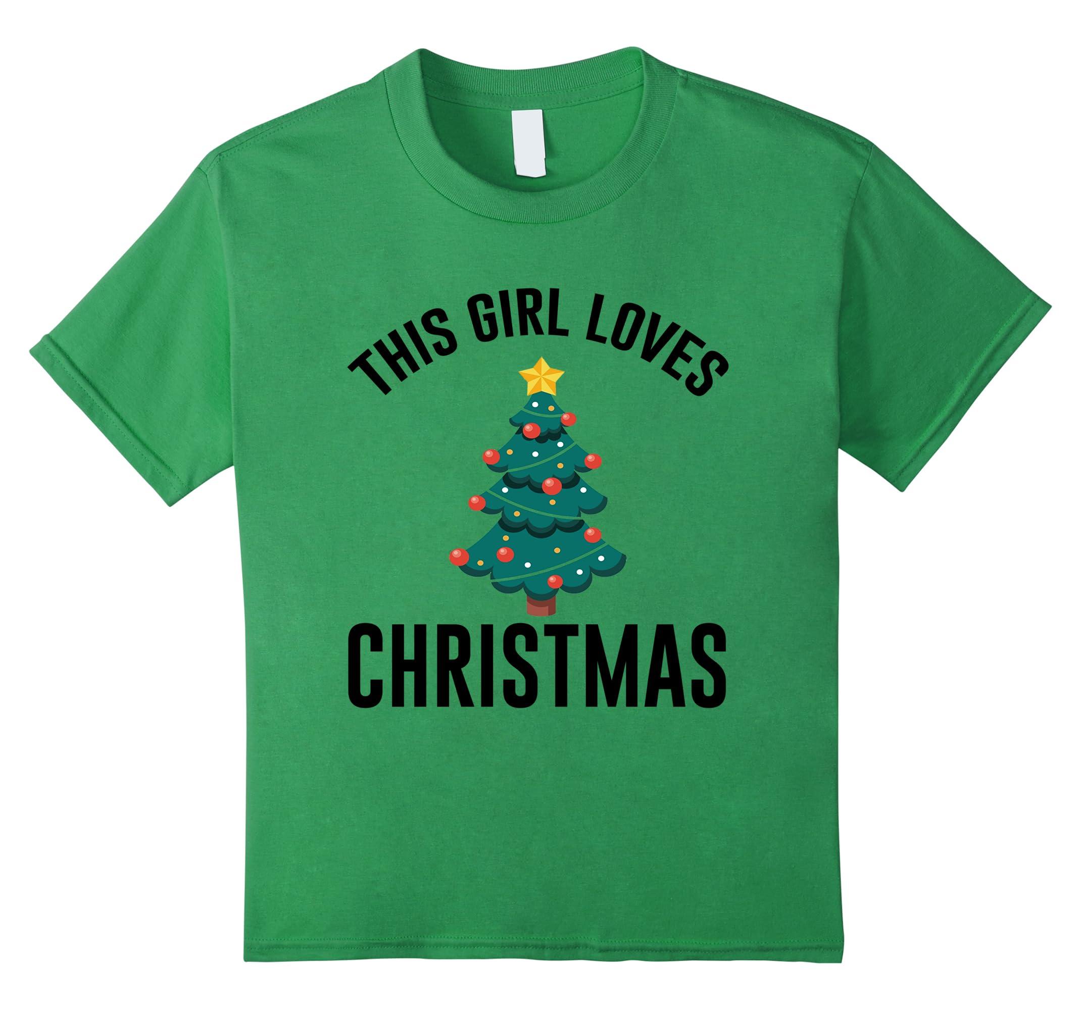 This Girl Loves Christmas T shirt