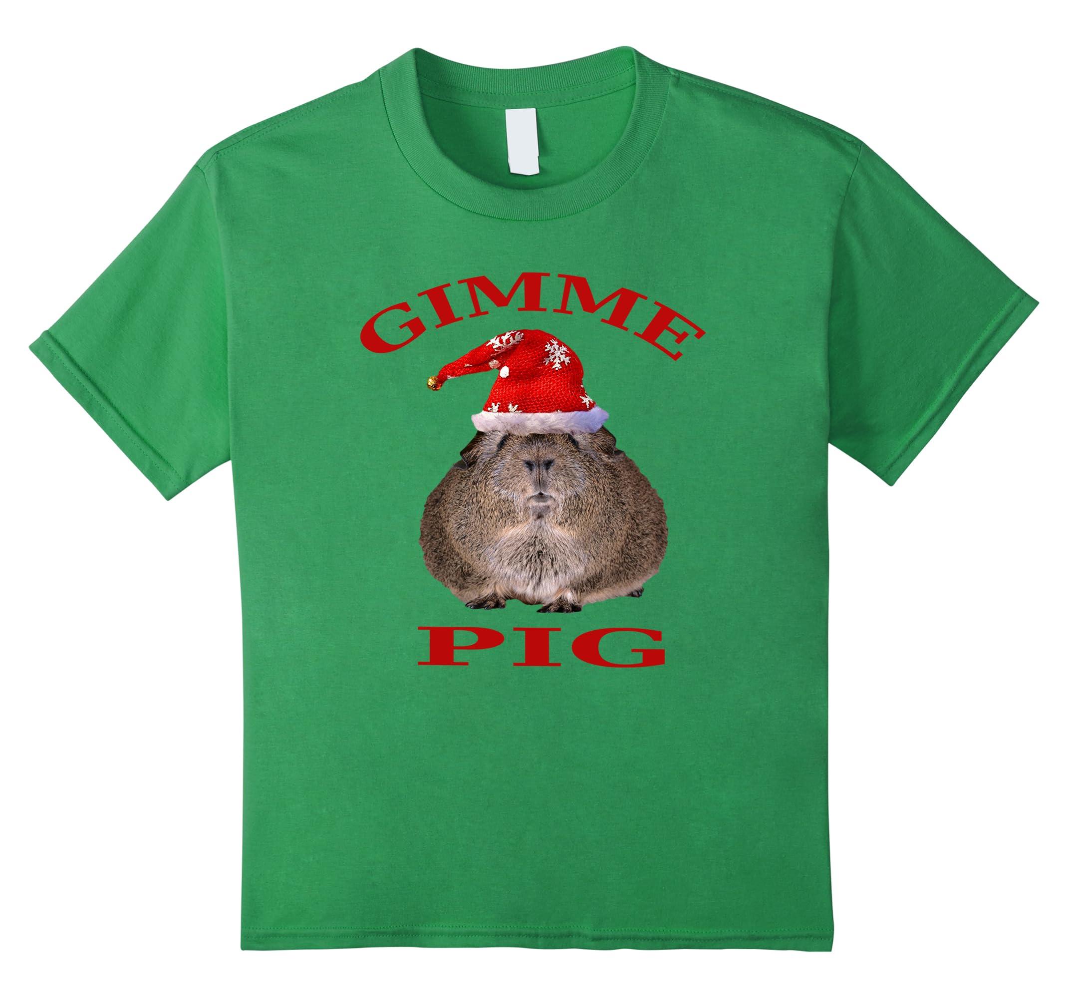Funny Christmas T Shirts Guinea Clothing-Veotee