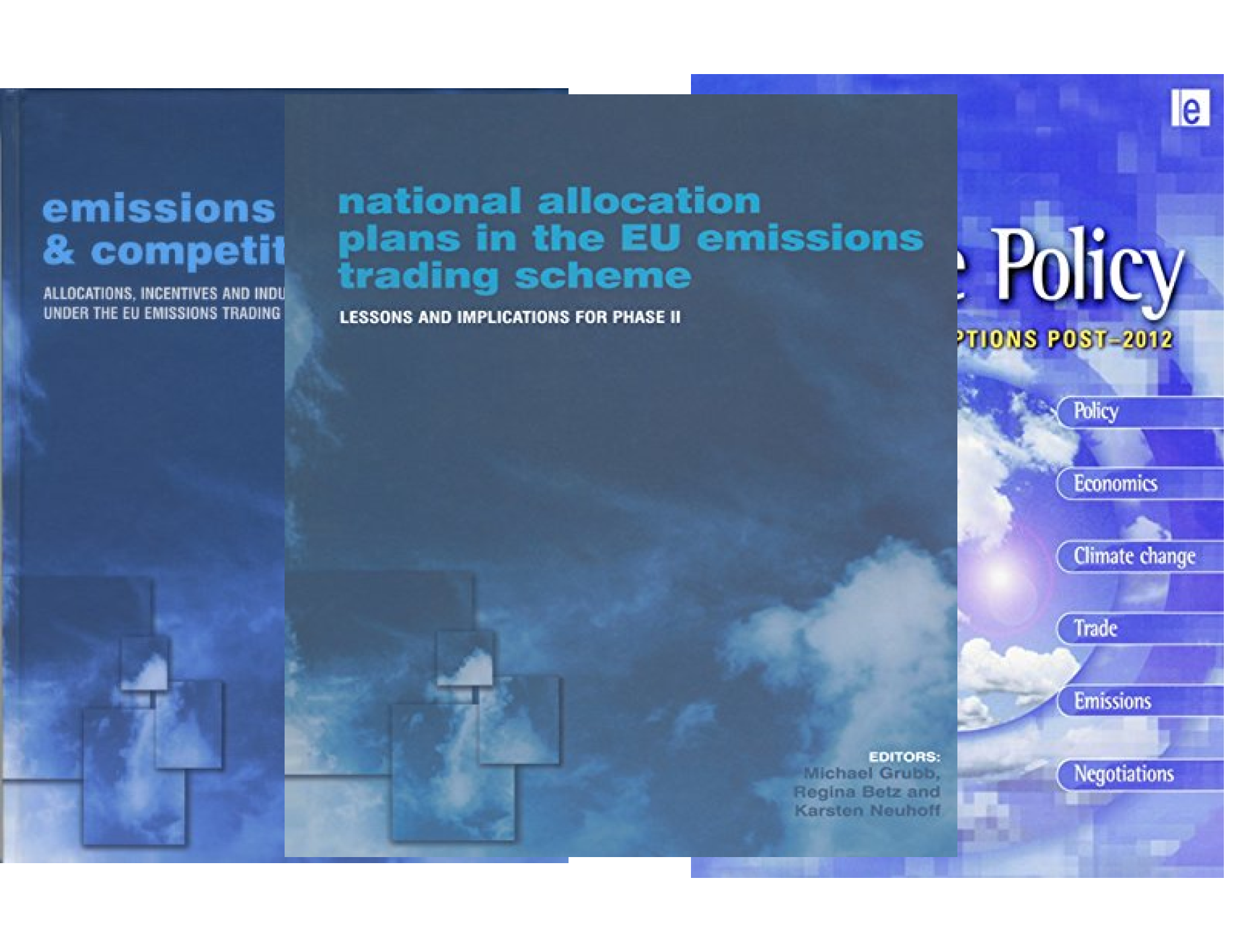 Climate Policy (6 Book Series)