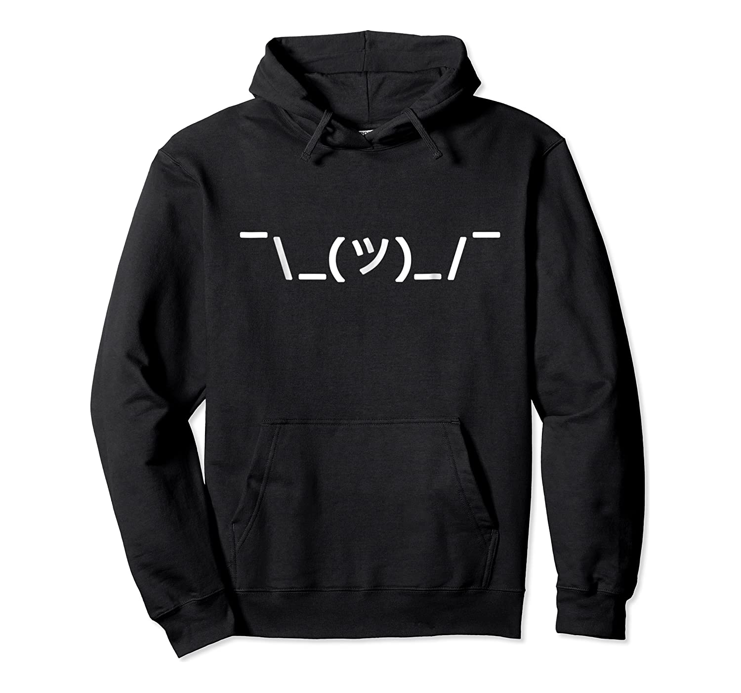 Text Shrug Whatever Funny Ascii Shirts Unisex Pullover Hoodie