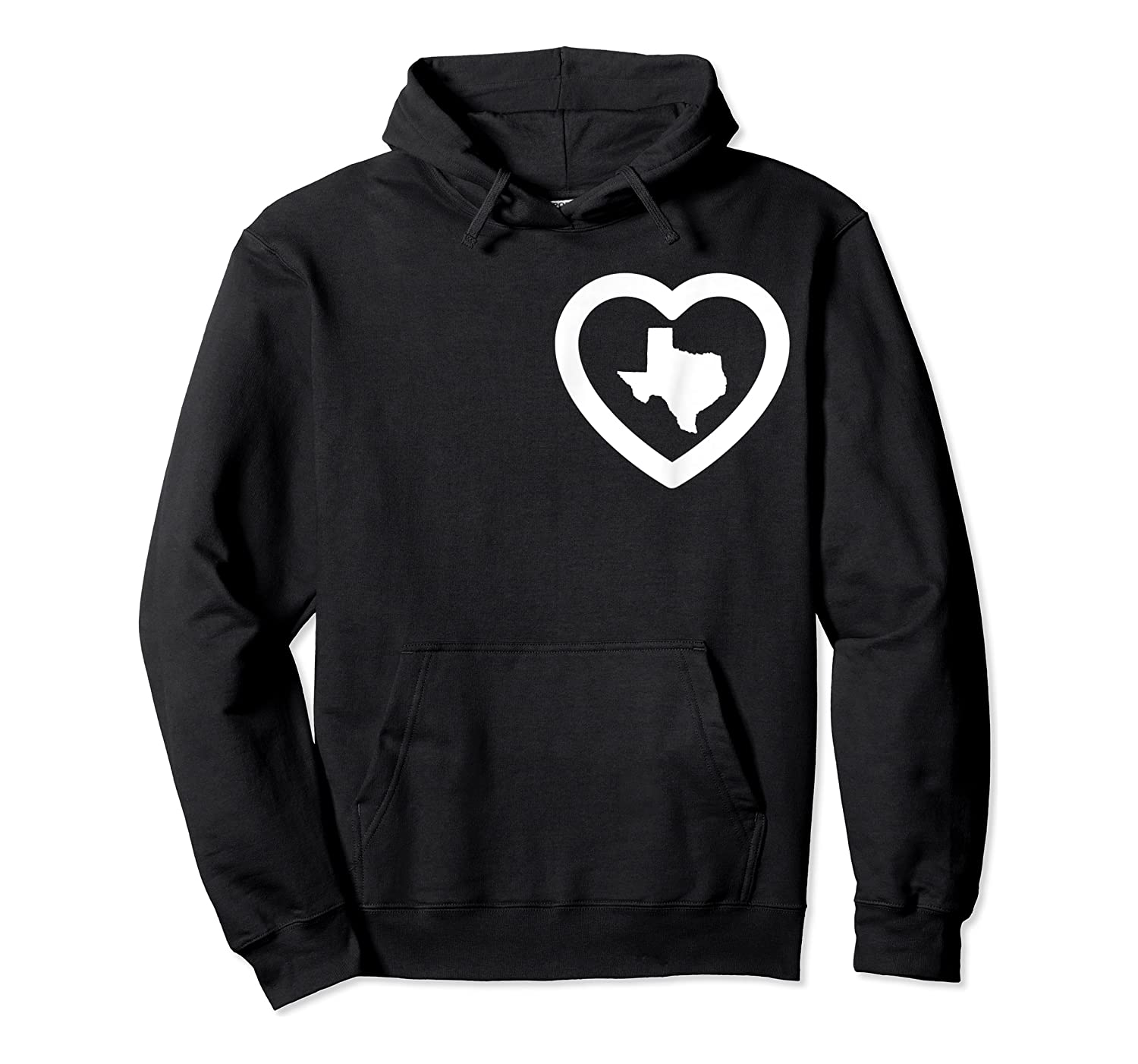 Love Texas Pride Love Proud Texan Southern Lone Star Tx Shirts Unisex Pullover Hoodie