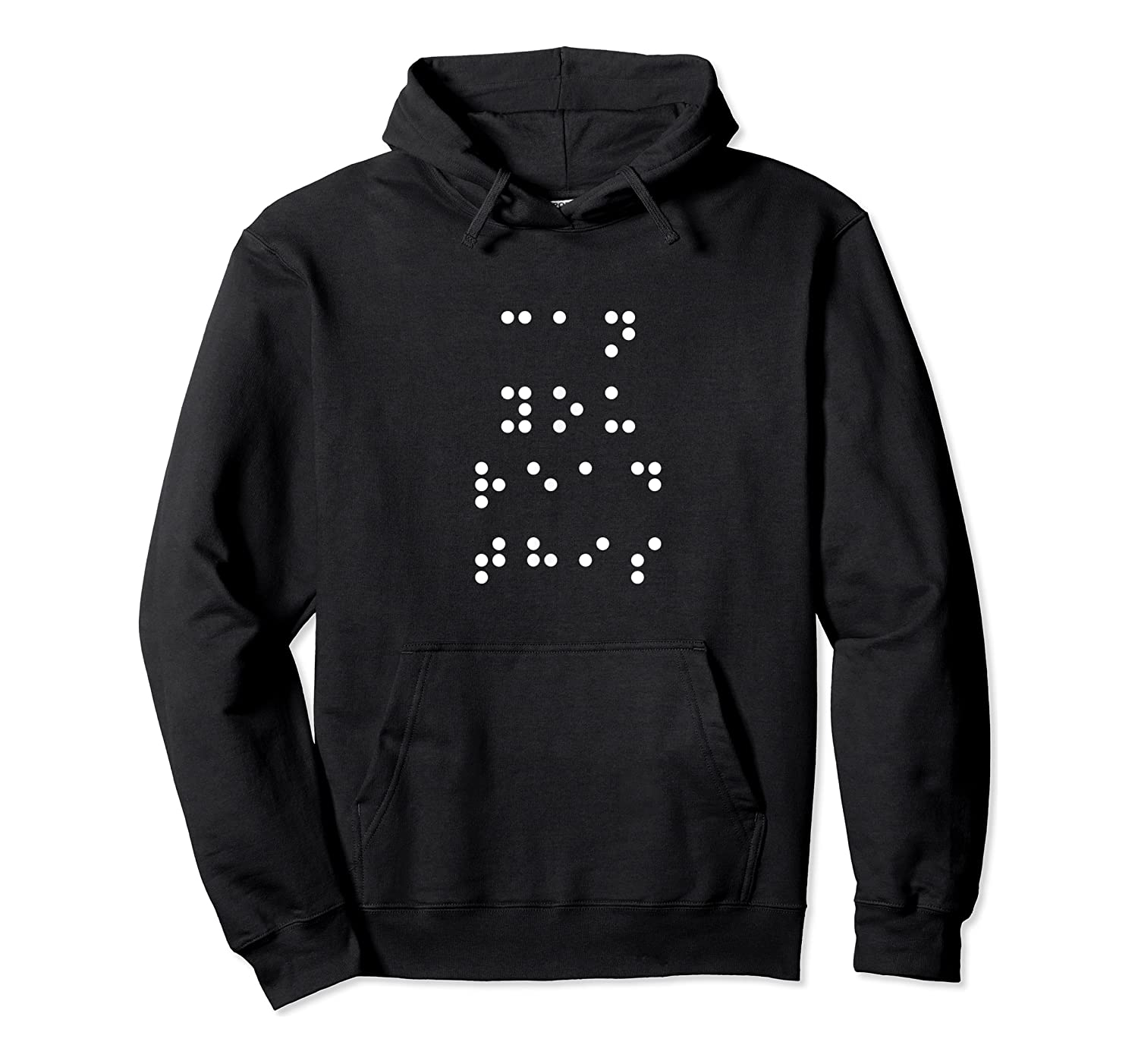 Can You Read This Braille Blind Read Write Tea Shirt Unisex Pullover Hoodie
