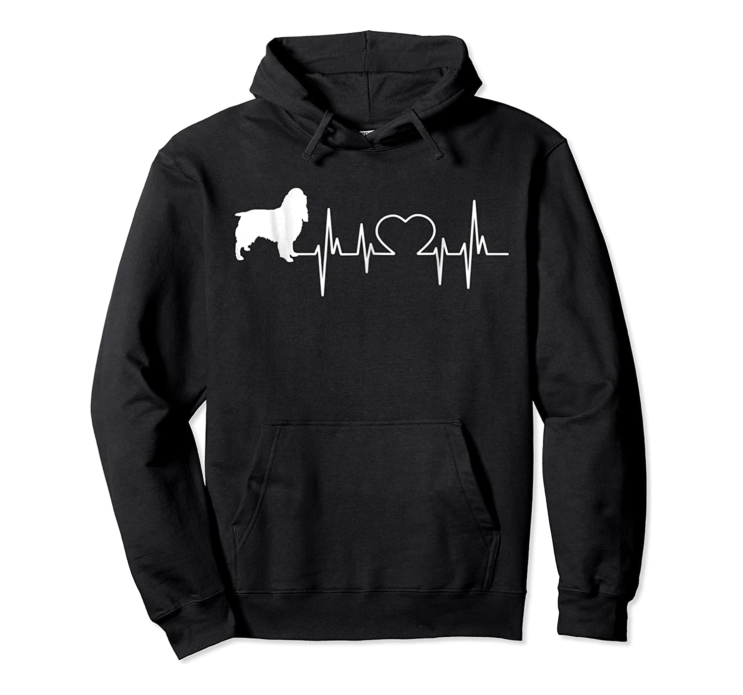 English Springer Spaniel Dad & Mom T Gift Shirts Unisex Pullover Hoodie