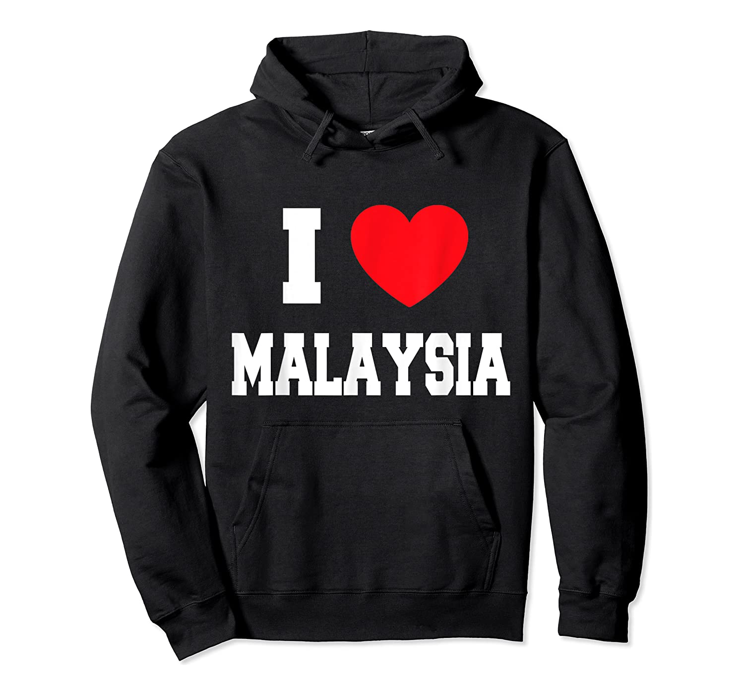 Love Malaysia Shirts Unisex Pullover Hoodie