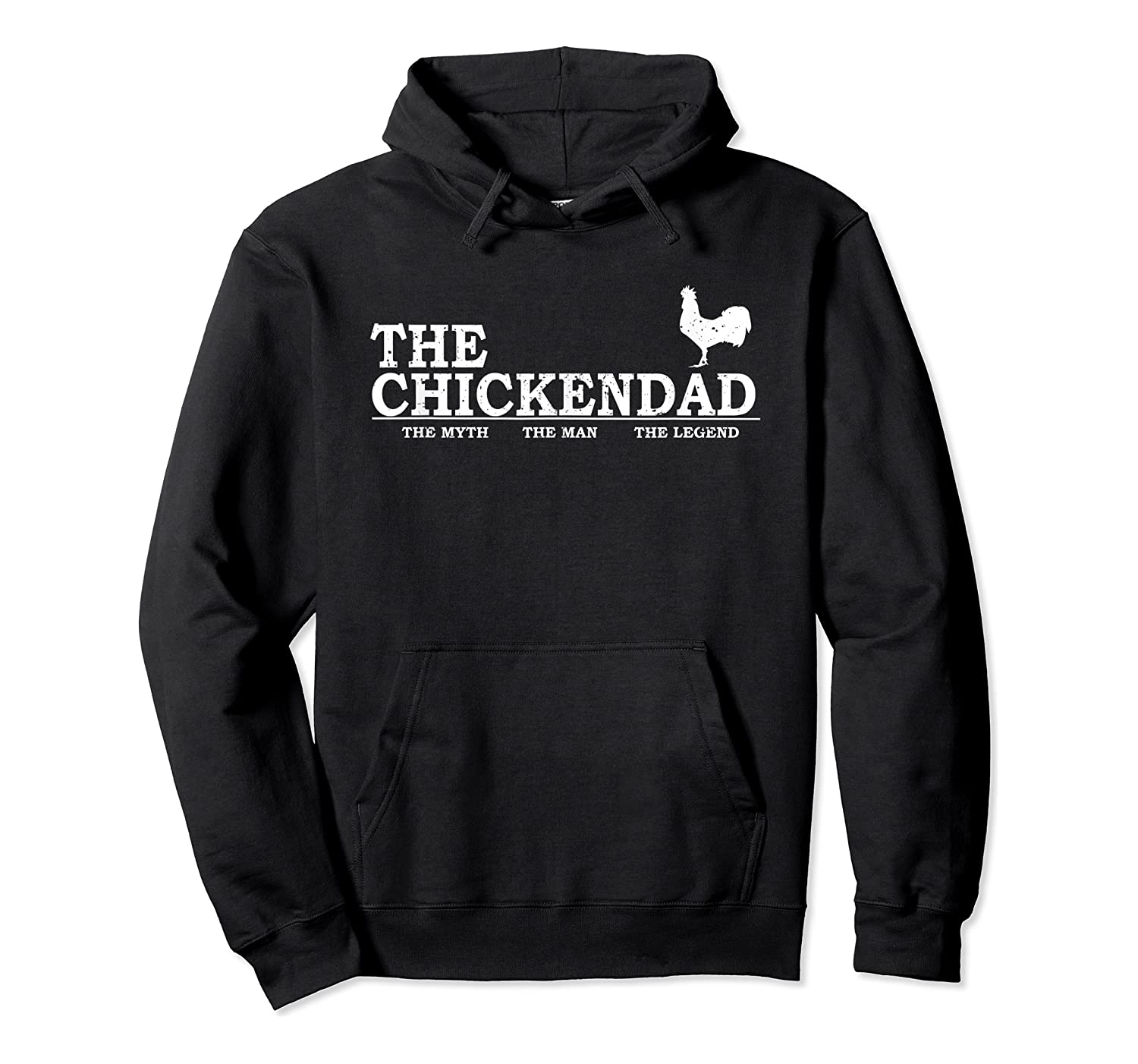 The Chicken Dad Pet Lover Father's Day Gift Cute Shirts Unisex Pullover Hoodie