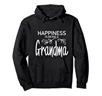 Happiness Is Being A Grandma Fun Trendy Gift Shirts Hoodie Black