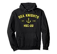 Hsc-22 Sea Knights T-shirt Hoodie Black