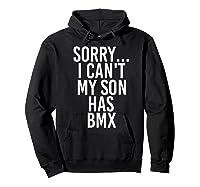 Dad Mom My Son Has Bmx Shirts Hoodie Black