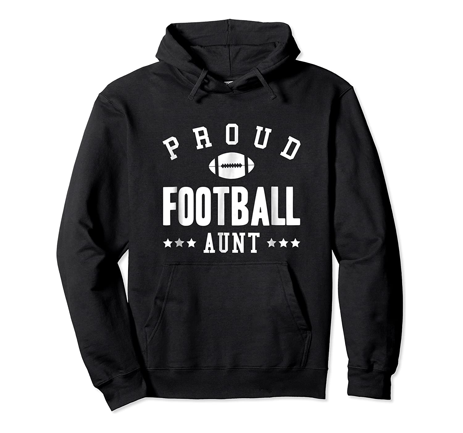 Proud Football Aunt Gift Shirts Unisex Pullover Hoodie