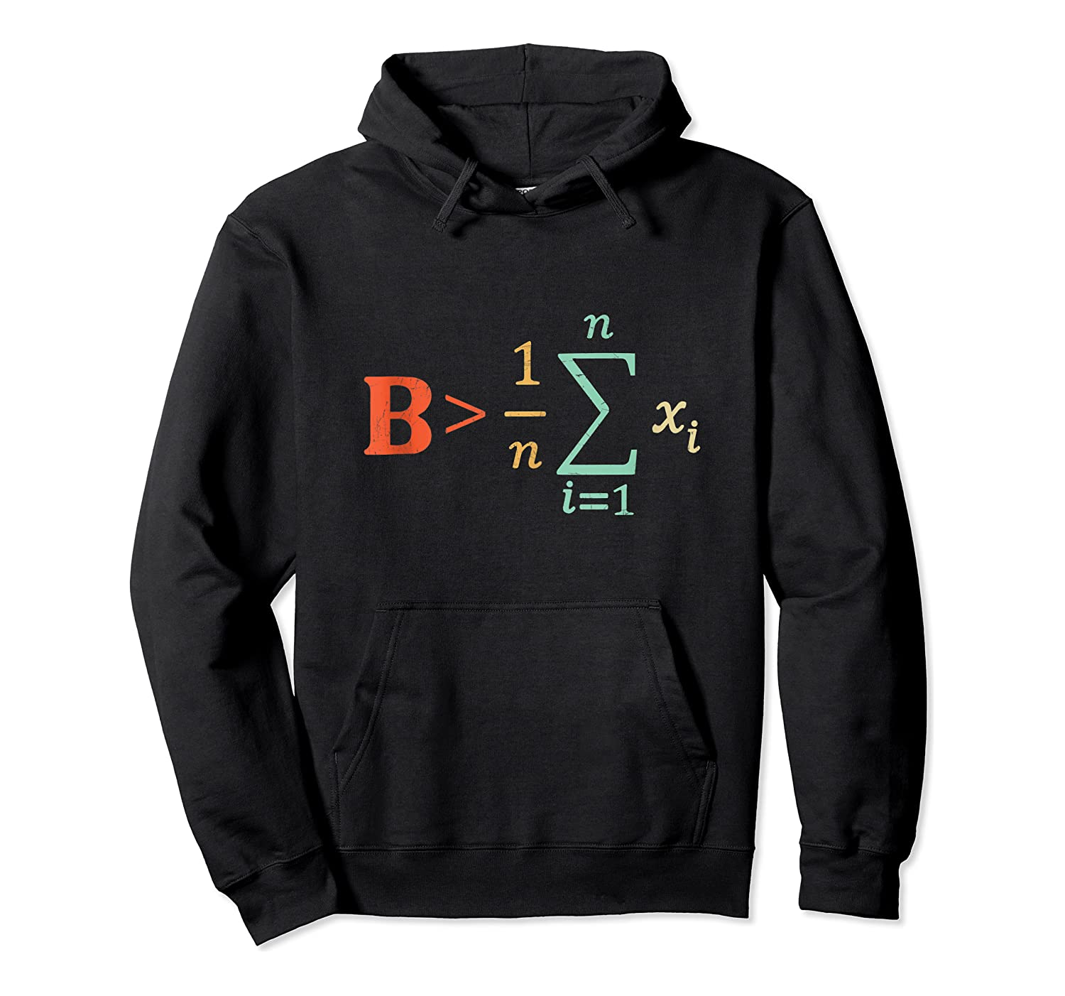 Be Greater Than Average Funny Math Tea Nerd Shirts Unisex Pullover Hoodie
