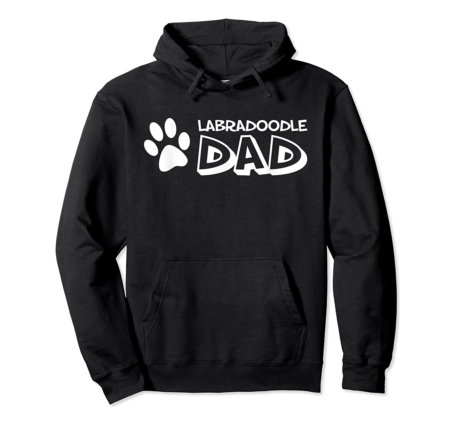 S Labradoodle Dad T-shirt For  Unisex Pullover Hoodie