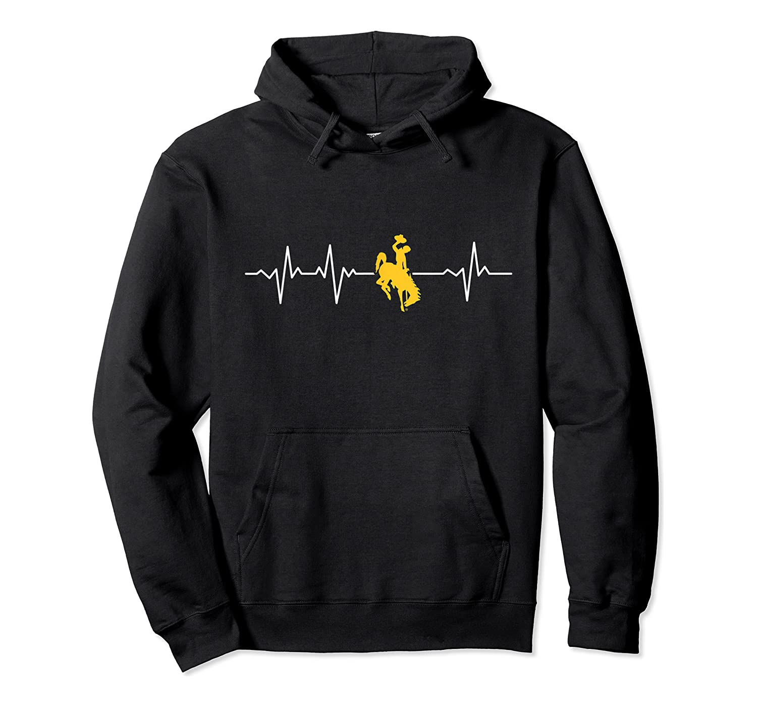 Wing Cow 051 Heartbeat T-shirt - Apparel Unisex Pullover Hoodie