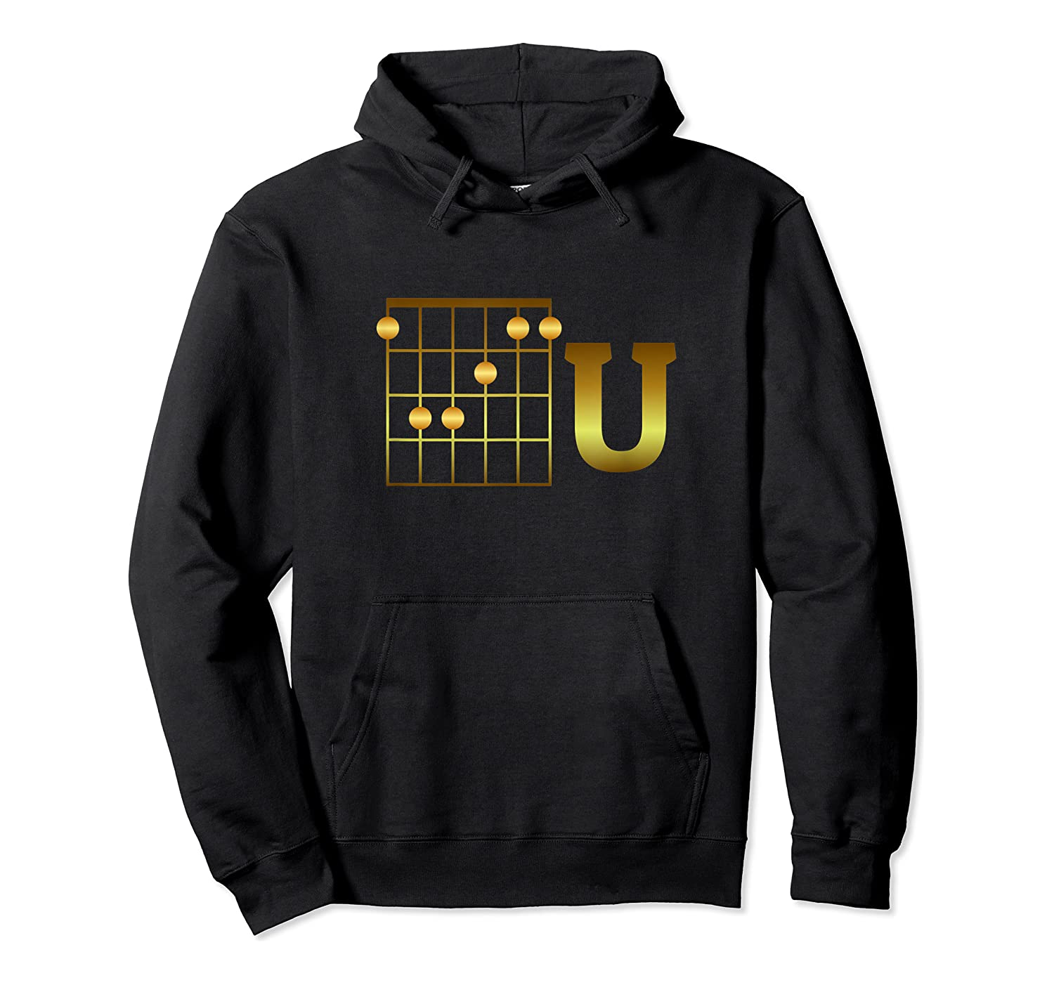 Funny F Chord U Guitarist Player Gift Guitar Lover Shirts Unisex Pullover Hoodie