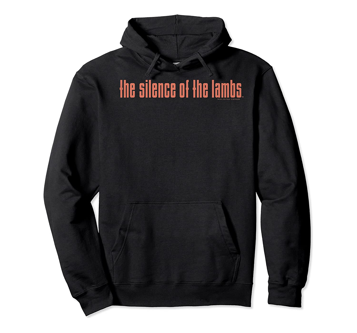 The Silence Of The Lambs Title Logo Premium T-shirt Unisex Pullover Hoodie