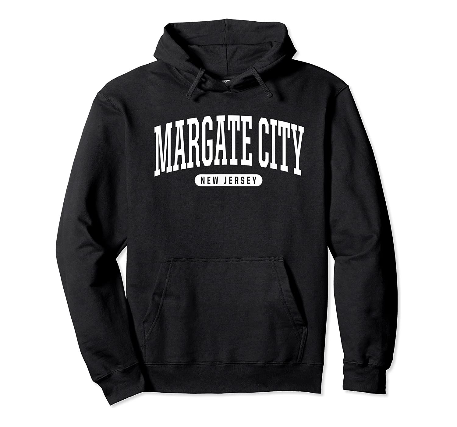 College Style Margate City New Souvenir Gift Shirts Unisex Pullover Hoodie