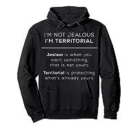 I\\\'m Territorial Not Jealous Bdsm Kink Shirt Hoodie Black