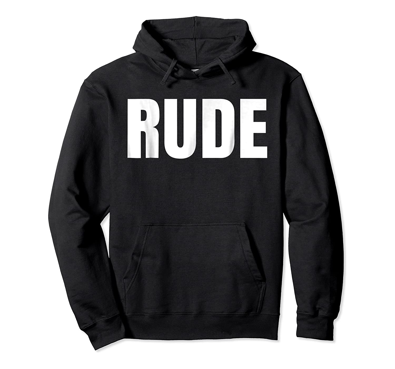 Says Rude Funny One Word Fashion Shirts Unisex Pullover Hoodie