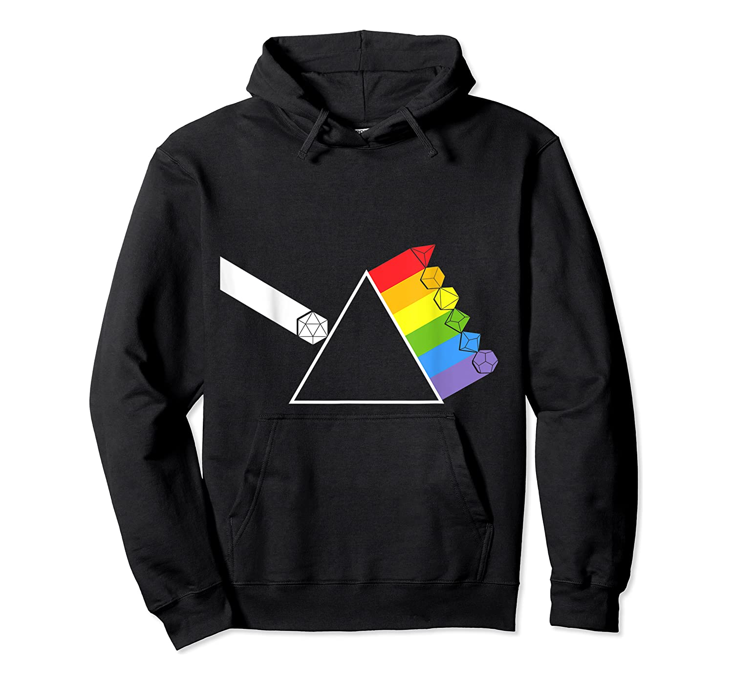 Diceside Of The Moon D20 Dice Set Tabletop Game Shirts Unisex Pullover Hoodie