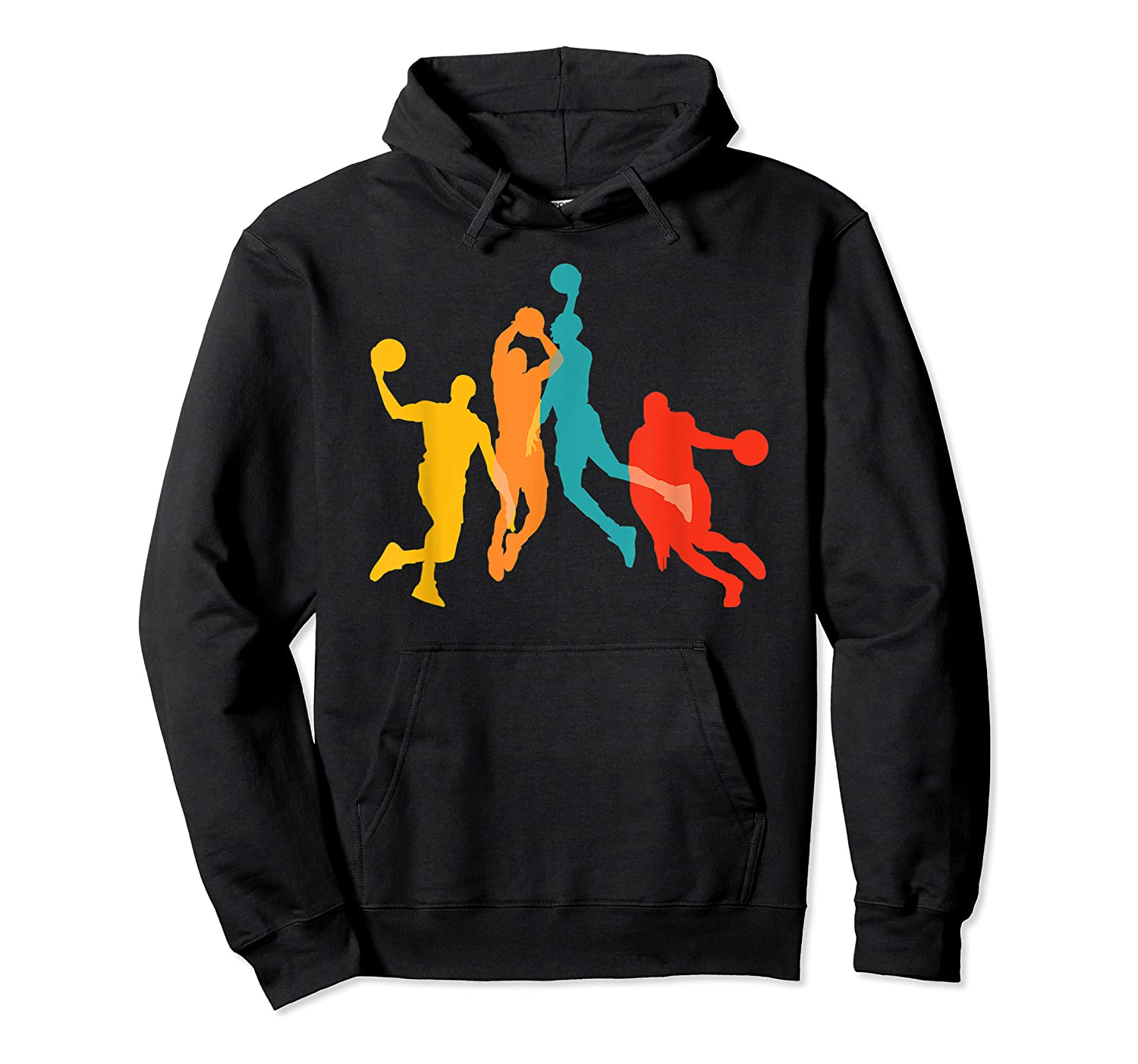 Basketball Vintage Bball Basketball Player Dunk Sport Gift Shirts Unisex Pullover Hoodie