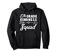 Tea Team Shirt - 5th Grade Kindness Squad Gift Hoodie Black