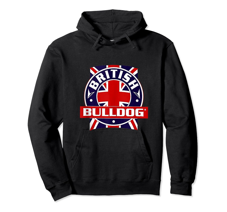 British Bulldog Flag Graphic Shirts Unisex Pullover Hoodie