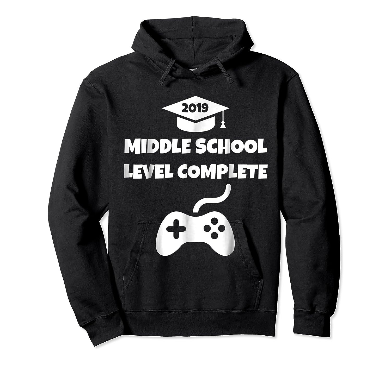 Funny Middle School Graduation Video Gamer Tshirt Unisex Pullover Hoodie