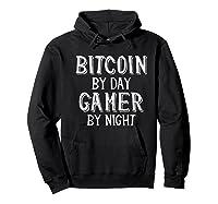 Bitcoin Trader By Day Gamer By Night Crypto Btc Blockchain Shirts Hoodie Black