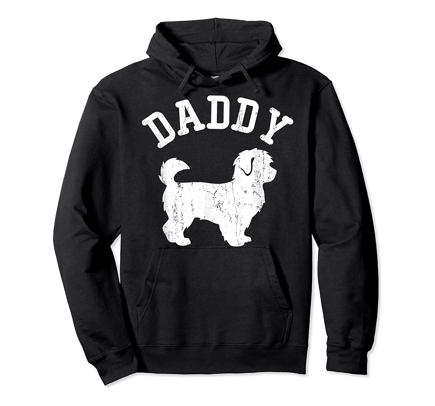 Daddy Maltipoo Vintage Gift Ideas For Dad Shirts Unisex Pullover Hoodie