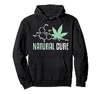 Natural Cure Cbd T-shirt Hoodie Black
