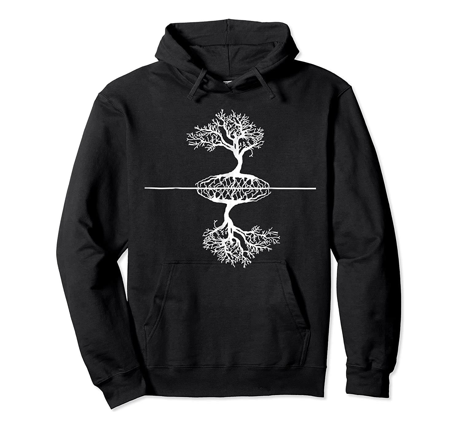 Artist Reflection Tree Of Life Shirts Unisex Pullover Hoodie