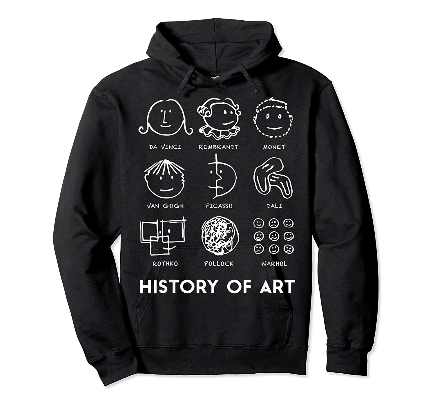 History Of Art For Teas, Students, S, Love Art T-shirt Unisex Pullover Hoodie