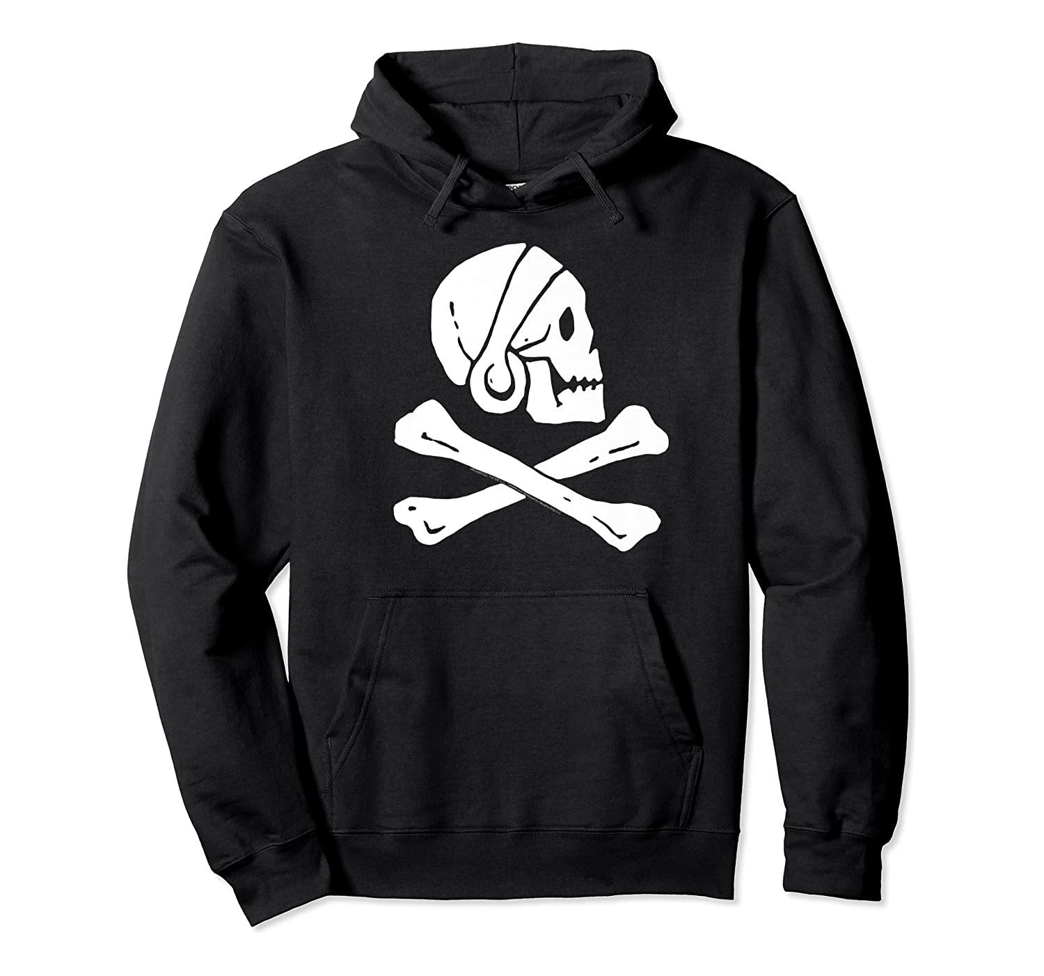 Uncharted Henry Avery Pirate Flag Shirt Unisex Pullover Hoodie