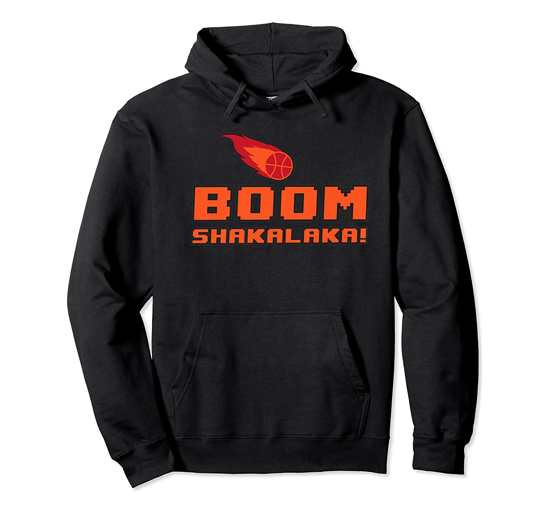 Retro Boomshakalaka Basketball Shirts Unisex Pullover Hoodie
